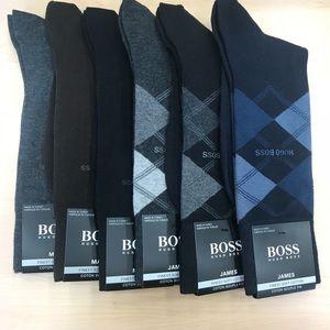 Brand new Hugo Boss men's socks bundle